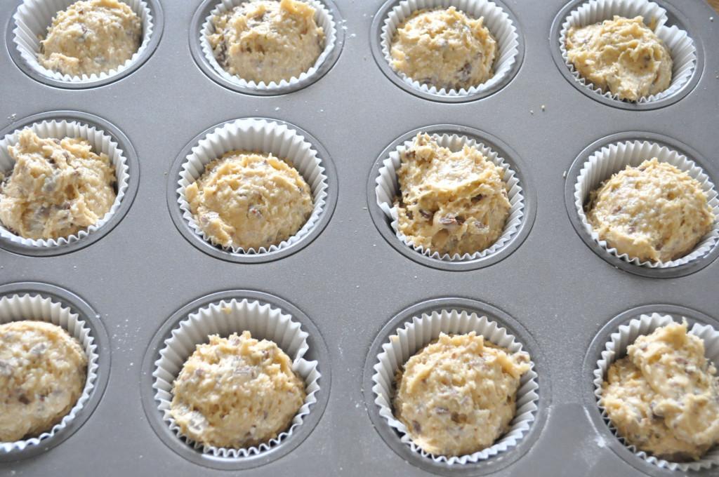 a muffiny cesto vo forme