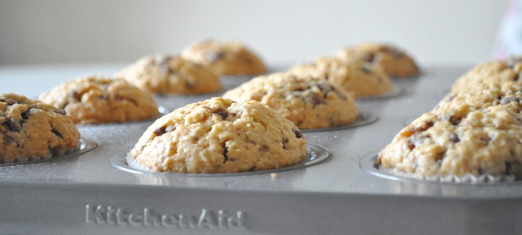 a muffiny upečené forma