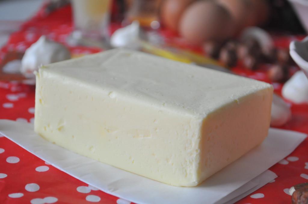 a cukroví maslo