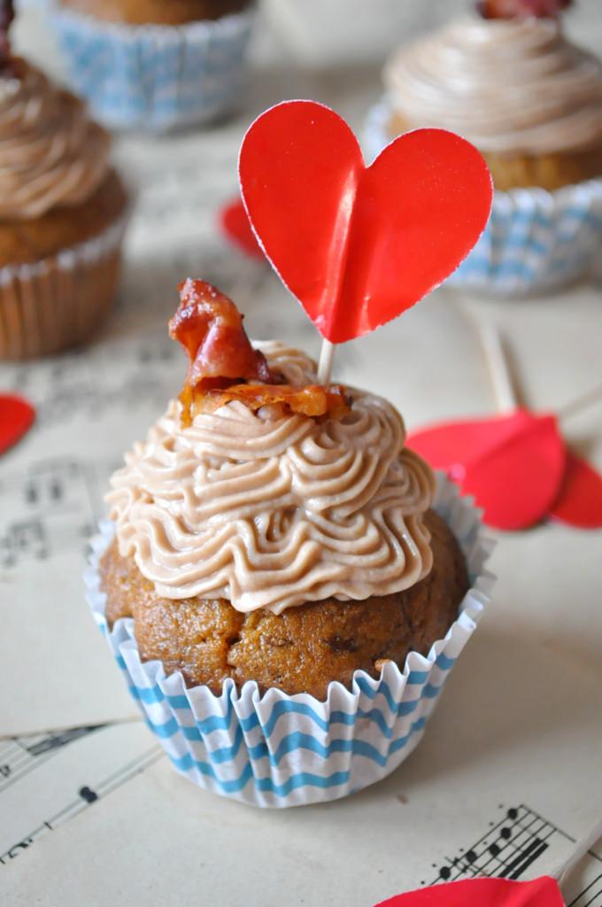 a cupcake jeden z predu