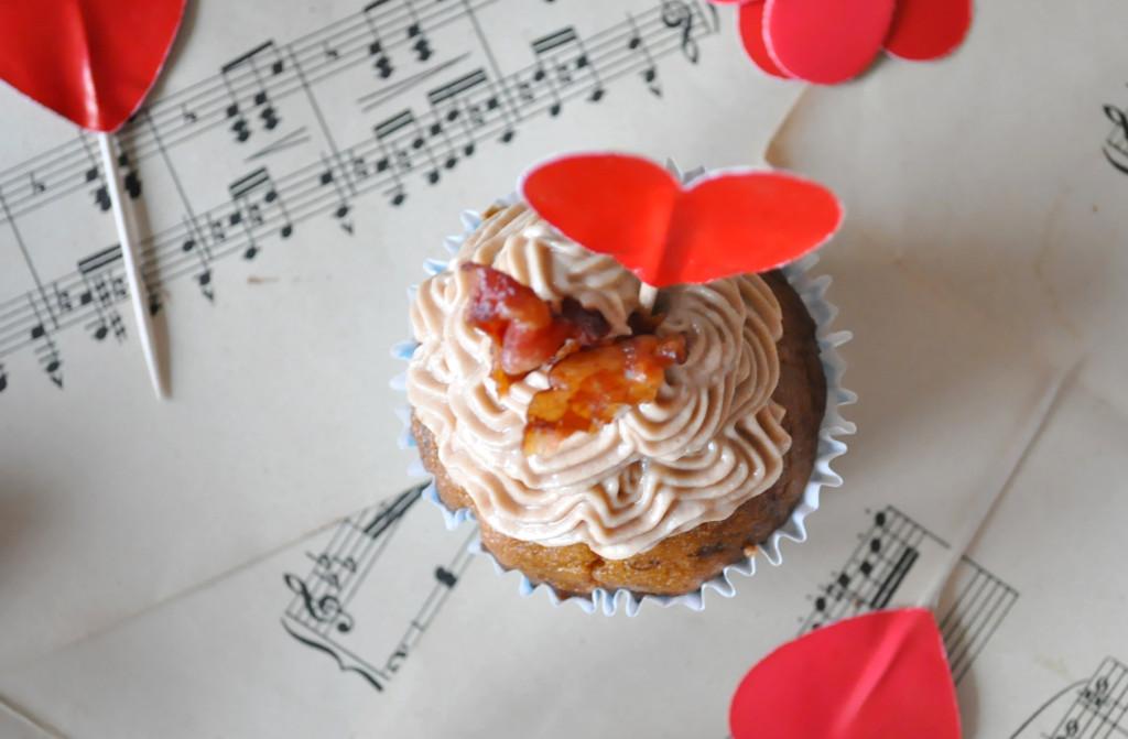 a cupcake z hora jeden