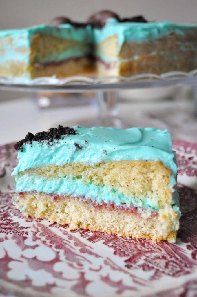 a torta odkroje.