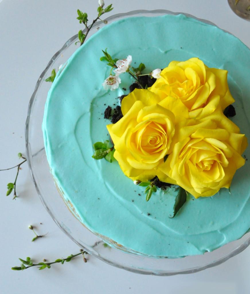 a torta ruže text