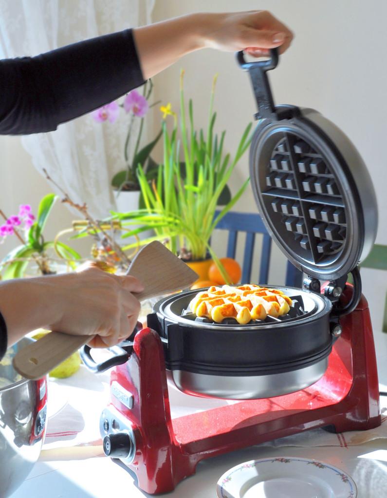 a wafle stroj