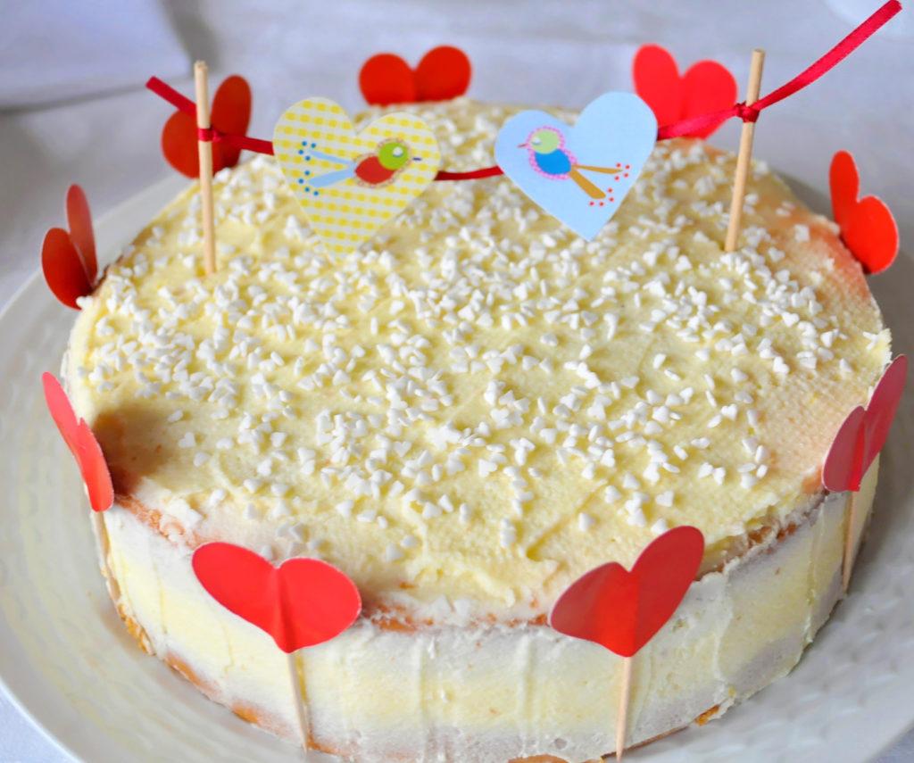 a torta celá