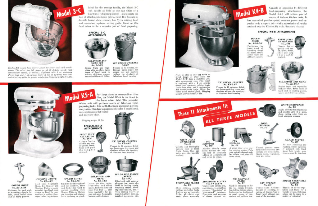 Vintage_3_mixers_with_attachments