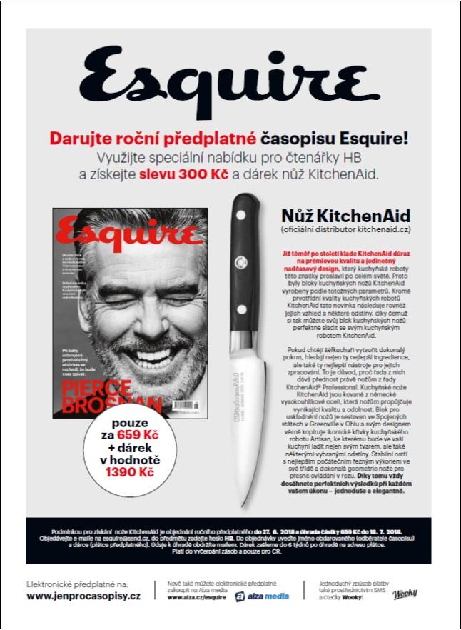 esquair nůž santoku předplatné