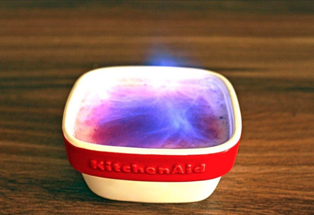 hořící miska